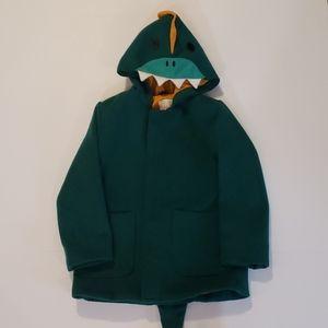 CAT & JACK Dinosaur Hooded Coat size 5T